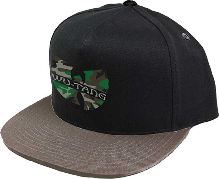Wu-Tang Clan- Camo Logo baseball hat