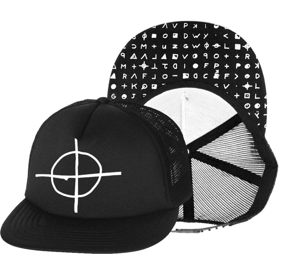 Zodiac Cypher Trucker Hat by Western Evil