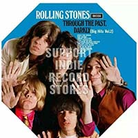 Rolling Stones- Through The Past, Darkly (Big Hits Vol 2) LP (Orange Vinyl) (Record Store Day 2019 Release)