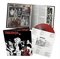 7 Seconds- The Crew LP (Deluxe Edition With 20 Page Booklet, Red & Black Galaxy Vinyl)