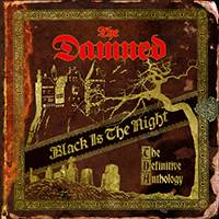 Damned- Black Is The Night, The Definitive Anthology 4xLP (Gold Vinyl)