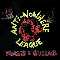Anti Nowhere League- Kings & Queens LP (Red Vinyl)