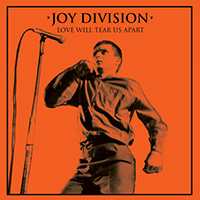 "Joy Division- Love Will Tear Us Apart 12"" (Orange Vinyl)"