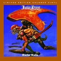 Judas Priest- Rocka Rolla LP (180gram Translucent Grape & White With Black Splatter Vinyl)