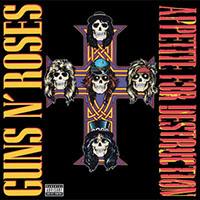Guns N Roses- Appetite For Destruction LP