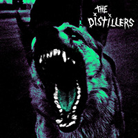 Distillers- S/T LP (20th Anniversary Clear With Green Purple And Black Vinyl)