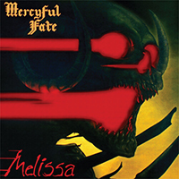 Mercyful Fate- Melissa LP (Yellow With Black Streaks Vinyl)