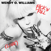 """Wendy O Williams- Fuck N Roll (Live) 12"""" (Red Vinyl)"""