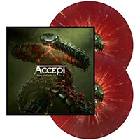 Accept- Too Mean To Die 2xLP (Red And Orange Splatter Vinyl)