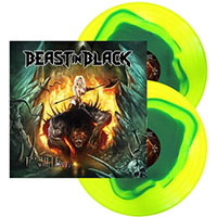 Beast In Black- From Hell With Love 2xLP (Blue In Yellow Vinyl)
