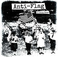 Anti Flag- 17 Song Demo LP (Silver Vinyl)