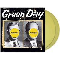 Green Day- Nimrod 2xLP (Transparent Yellow Vinyl With Etched D-Side)
