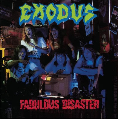 Exodus- Fabulous Disaster LP (Gatefold Turquoise Vinyl)