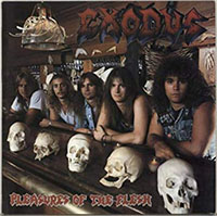 Exodus- Pleasures Of The Flesh LP (Opaque Blue Gatefold Vinyl)