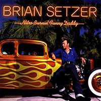 Brian Setzer- Nitro Burnin Funny Daddy LP (Red Vinyl)