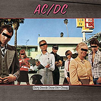 AC/DC- Dirty Deeds Done Dirt Cheap LP