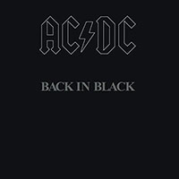 AC/DC- Back In Black LP