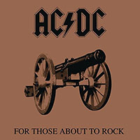 AC/DC- For Those About To Rock LP