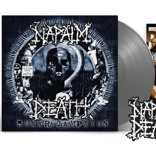 Napalm Death- Smear Campaign LP (Black Ice Vinyl)