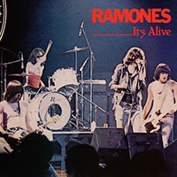 Ramones- It's Alive 2xLP (40th Anniversary Edition- Red & Blue Vinyl)