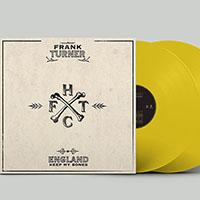 Frank Turner- England Keep My Bones 2xLP (Indie Exclusive 180gram Opaque Yellow Vinyl)