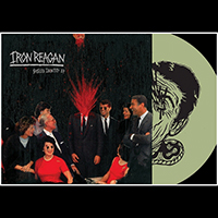 Iron Reagan- Spoiled Identity LP (Green Vinyl With Screen Printed B-Side)