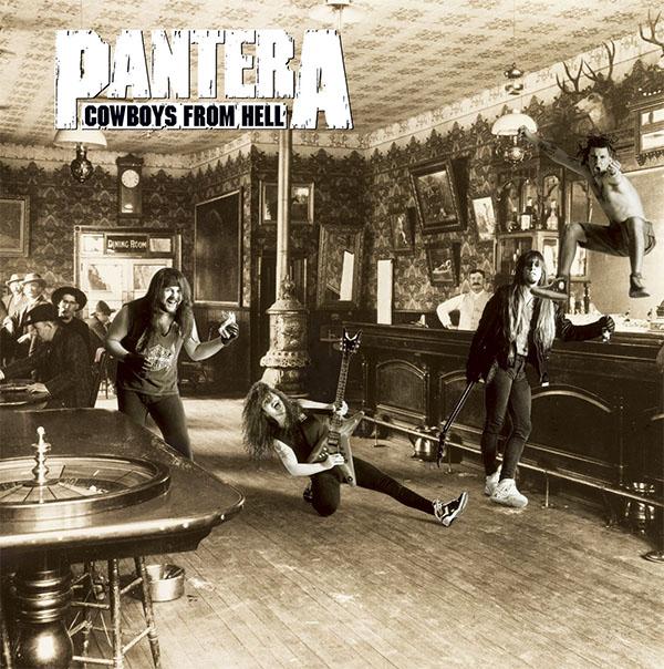 Pantera- Cowboys From Hell 2xLP (180gram Vinyl)
