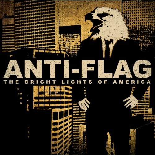 Anti Flag- The Bright Lights Of America 2xLP (3 sides of music, 1 side is laser etched)