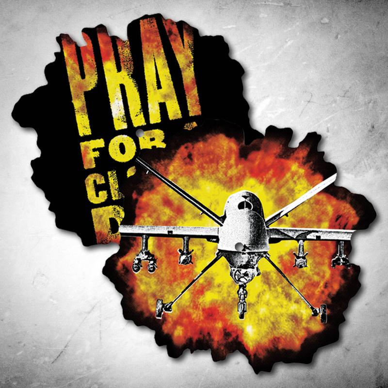 """Anti Flag- Sky Is Falling die cut 10"""""""
