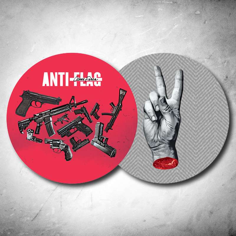 Anti Flag- Cease Fire LP (Ltd Ed Picture Disc, Each Copy #'d))