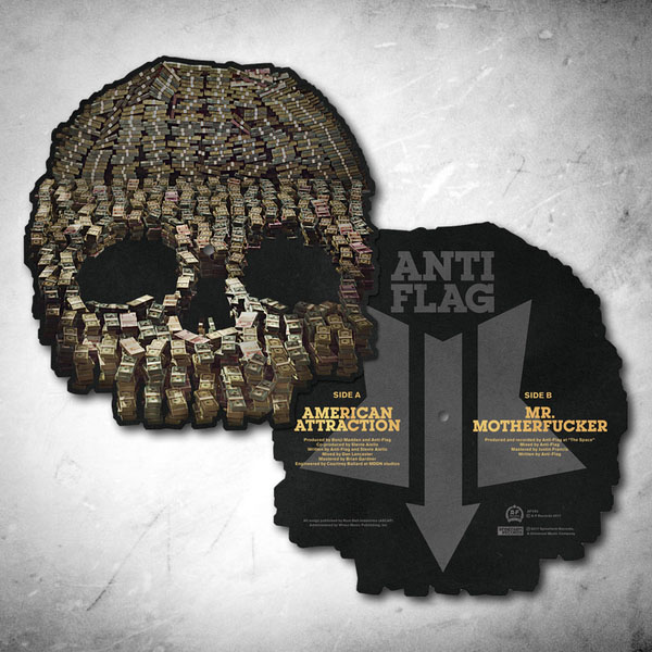 Anti Flag- American Attraction Shaped Picture Disc