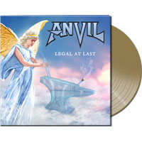 Anvil- Legal At Last (UK Exclusive Gold Vinyl, Only 100 Pressed)