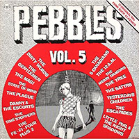 V/A- Pebbles Vol 5 (Original Artyfacts From The First Punk Era) LP (Starburst Vinyl)