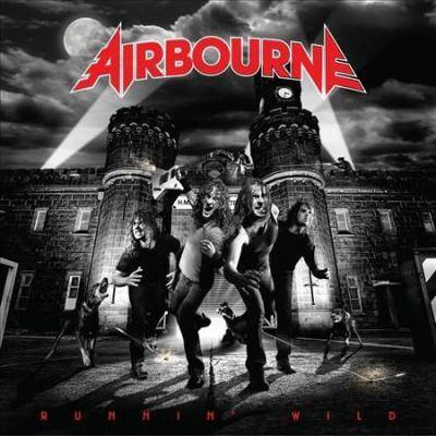 Airbourne- Runnin' WIld LP (Red Vinyl, Comes With Poster)