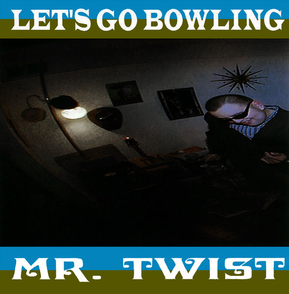 Let's Go Bowling- Mr. Twist LP (Rose Marble Vinyl)