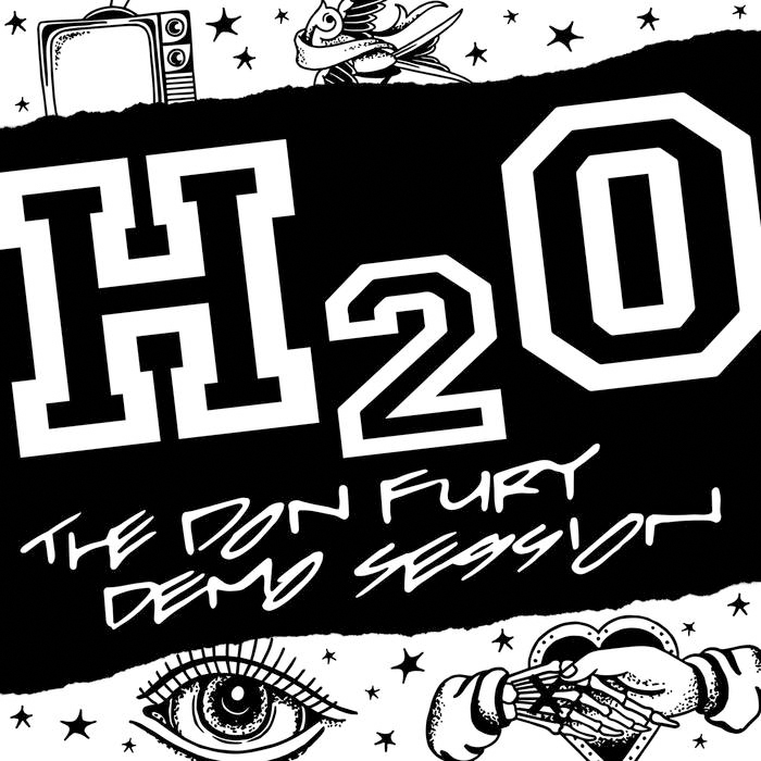 H2O- The Don Fury Session LP (Blue Vinyl)