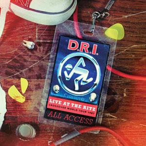 DRI- Live At The Ritz 1987 LP