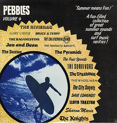 V/A- Pebbles Volume 4, Summer Means Fun LP