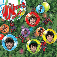 "Monkees- Christmas Party Plus! 2x7"" (Red And Green Vinyl) (Black Friday Record Store Day 2019 Release)"