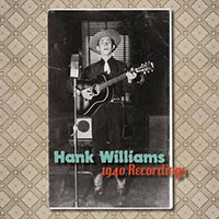 """Hank Williams- 1940 Recordings 7"""" (Red Vinyl) (Black Friday Record Store Day 2019 Release)"""