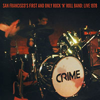 "Crime- San Francisco's First And Only Rock N Roll Band, Live 1978 2x7"" & DVD (Blue Vinyl) (Black Friday Record Store Day 2019 Release)"