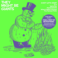 "They Might Be Giants- Don't Let's Start 12"" (Clear Vinyl, #'d) (Black Friday Record Store Day 2019 Release)"
