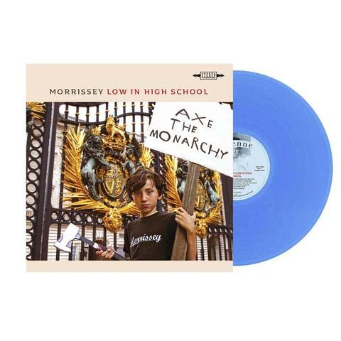 Morrissey- Low In High School LP (French Version- Blue Vinyl)