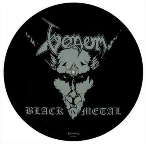 Venom- Black Metal Pic Disc LP (Record Store Day 2017 Release)