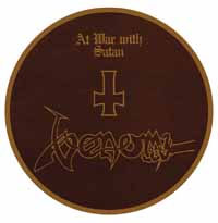 Venom- At War With Satan Pic Disc LP (Record Store Day 2017 Release)