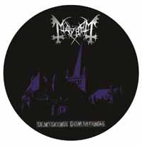 Mayhem- De Mysteriis Dom Sathanas Pic Disc LP (Record Store Day 2017 Release)