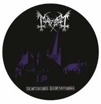 Mayhem- De Mysteriis Dom Sathanas Pic Disc LP (UK Import)