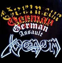 Venom- German Assault LP (UK Import!)