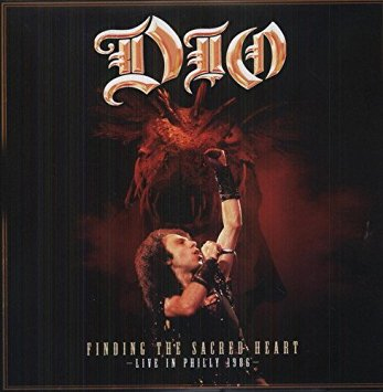 Dio- Finding The Sacred Heart, Live In Philly 1986 2xLP (UK Import! RED Vinyl) (Record Store Day 2018 Release)