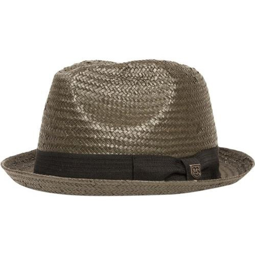 Castor Straw Hat by Brixton- WASHED BLACK
